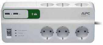 <b>Сетевой фильтр APC Essential</b> SurgeArrest PM6U-RS, 6 розеток ...
