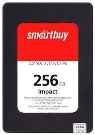 Твердотельный накопитель <b>SmartBuy Impact</b> 256 GB (SBSSD ...