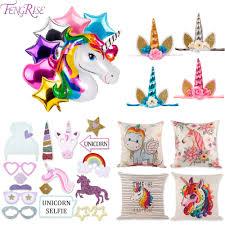 <b>FENGRISE</b> Rainbow <b>Unicorn</b> Party Decoration Photo Booth Props ...
