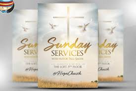 church flyer template photos graphics fonts themes templates sunday services flyer template 2
