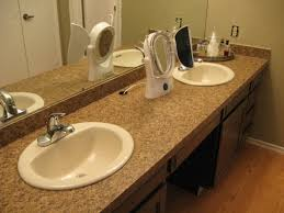 Old Bathroom Sink How To Install Bathroom Sink Replacing Undermount Kitchen Sink
