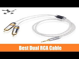 Best <b>YYAUDIO</b> OCC <b>Silver plated</b> Stereo to RCA Cable Review ...