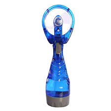 zhongjiany Portable Mist Spray Fan <b>Hand Held Battery Power</b> Air ...