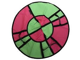 <b>Тюбинг Hubster Хайп 100cm</b> Pink Light Green ВО4671 7 во время ...