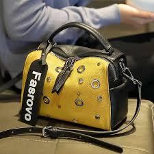 2019 summer new embossed <b>top layer cowhide</b> handbags bucket ...