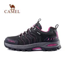 CAMEL <b>Men Women</b> Hiking Shoes <b>Genuine</b> Leather <b>Durable</b> Anti ...