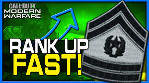 How to Rank Up Fast in Modern Warfare! - YouTube
