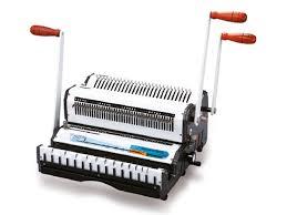 Bindquip <b>Wiremac Duo</b> Punching and Binding Machine – Press ...