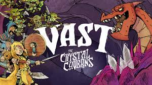 Vast: The <b>Crystal</b> Caverns - Second <b>Printing</b> with Miniatures by ...