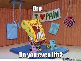 Pictures > do you even lift spongebob via Relatably.com