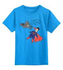 """Детские футболки c популярными принтами """"superman"""" - <b>Printio</b>"""