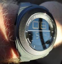 futuristic watch new mens futuristic modern structure watch gray digital light alarm
