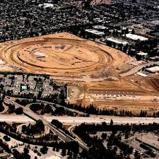 widely discussed earlier draft of the new companys headquarters in cupertino in the form of a giant ring nicknamed spacecraft safely implemented apple new office