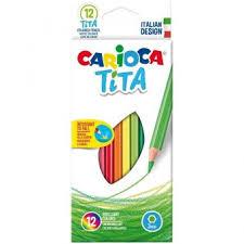 """<b>Карандаши цветные</b> пластиковые <b>Carioca</b> """"<b>Tita</b>"""", 12 цветов ..."""