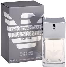 Giorgio Armani <b>Emporio Diamonds For</b> Men EdT 30ml in duty-free at ...
