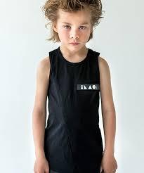 <b>Майка SB</b>-<b>Velcro</b> • BlackBlack - Концептуальная детская мода