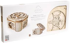 <b>Ugears Конструктор</b> 3D пазл <b>Шкатулка</b> с секретом — купить в ...