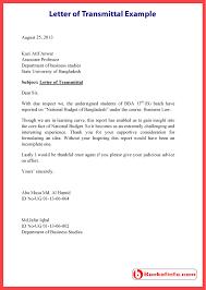letter of transmittal example Bankofinfo com