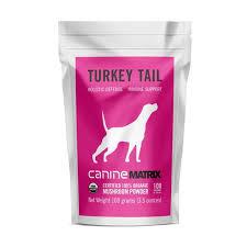 Canine <b>Turkey Tail</b> Matrix – <b>Mushroom</b> Matrix