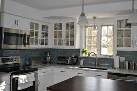 white kitchen windowed partition wall: lowes tile backsplash  white kitchen with glass tile backsplash