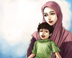 حافظ ابراهيم  الأم