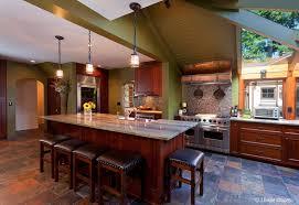 cabinets kitchen craftsman copper range hood