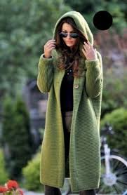 <b>Solid color large size long</b> cardigan knit sweater women's jacket ...