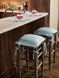 country living room ci allure:  ci allure of french and italian decor blue cushioned bar stools pg xjpgrendhgtvcom