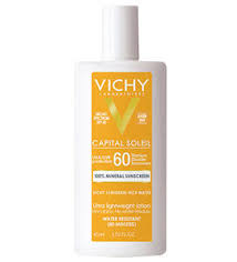 <b>Capital Soleil</b> Tinted 100% Mineral Sunscreen SPF 60 | <b>Vichy</b> USA