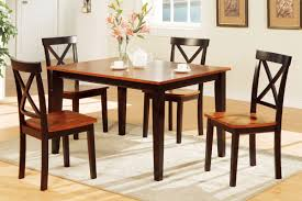 Two Toned Dining Room Sets 5 Piece Two Tone Dining Set Includes Chairs Huntington Beach