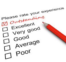 customer service elizabeth toogood your critical friend survey form a tick placed in outstanding checkbox