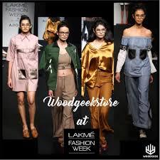 Geek <b>Chic Wooden Glasses</b> at Lakme <b>Fashion</b> Week with ...