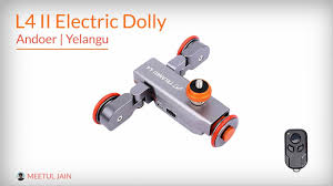 Electronic Motorized Dolly <b>L4</b> II Review   <b>Yelangu L4</b>   Andoer <b>L4</b> ...