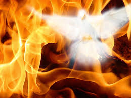 Image result for pics of fire coming out of a person praying