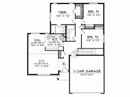 Contemporary One Story House Plans Modern One Story House Floor    Contemporary One Story House Plans Modern One Story House Floor Plans