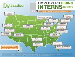 highest rated companies hiring interns in facebook debuts employers hiring interns 2014 map