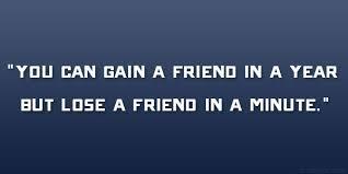Losing A Friend Quotes. QuotesGram via Relatably.com