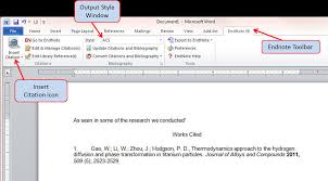 endnote uc davis university library steps for using endnote word