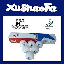 Xu Shao Fa 3 Star <b>Table</b> Tennis Balls - <b>60 Balls</b>