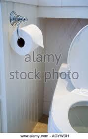 toilet paper bathroom today stock