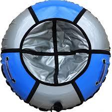 <b>Тюбинг SnowShow Практик 120cm</b> Light Blue Silver Мастеркард ...