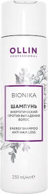 Ollin <b>Шампунь</b> энергетический против выпадения <b>волос</b> BioNika ...