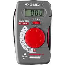 <b>Мультиметр цифровой ЗУБР МХ-600</b> 59800 - купить по лучшей ...