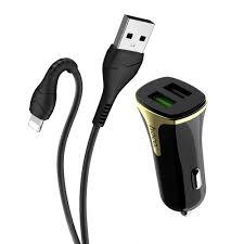 Автомобильное <b>зарядное устройство Hoco Z31</b> 18W QC3.0 3.4A ...