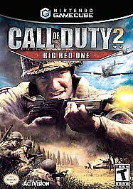 Call of Duty 2: Big <b>Red One</b> (Nintendo GameCube, 2005) for sale ...