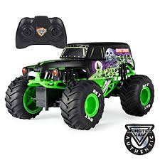 Buy Monster Jam, Official Grave Digger <b>Remote</b> Control Truck 1:15 ...