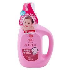 <b>Saraya Arau</b> Baby <b>Жидкое</b> мыло для стирки детского белья, 800 мл