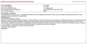 Job Application Letter Finance by pve