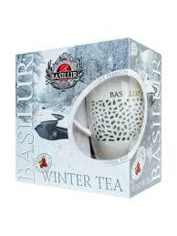 <b>Basilur</b> Чайный набор ВРЕМЕНА ГОДА Зимний <b>чай</b> 100 г и кружка ...