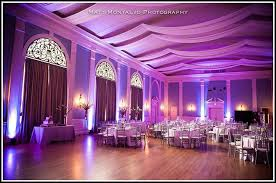 beautiful wedding reception lighting beautiful color table uplighting